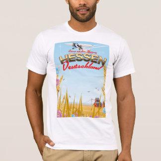 Hessen Deutschland Reiseplakat T-Shirt