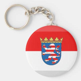 Hessen Flag Gem Keychain