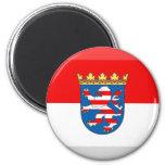 Hessen Flag Gem Refrigerator Magnets