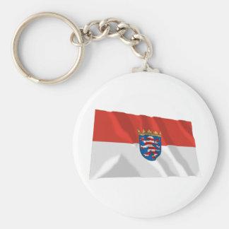 Hessen Flag Key Chain