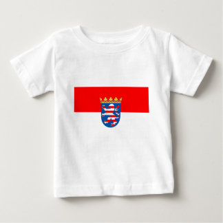 Hessen Flagge Baby T-Shirt