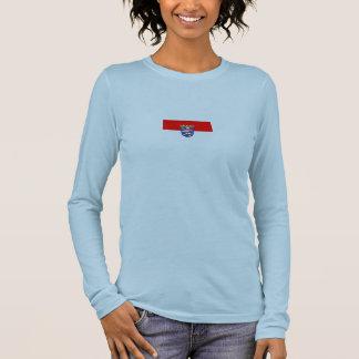 Hessen Flagge Long Sleeve T-Shirt
