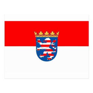 Hessen Flagge Post Card