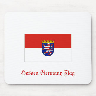 Hessen Germany Flag Mouse Pad