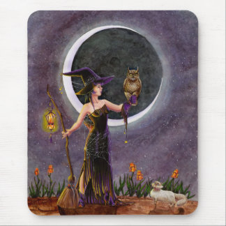 'Hester and the Owl' Mousepad