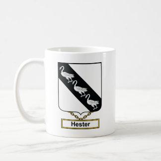 Hester Family Crest Mug