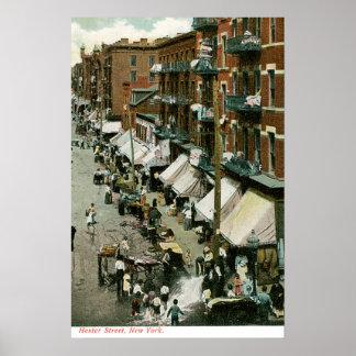 Hester Street New York Post Poster