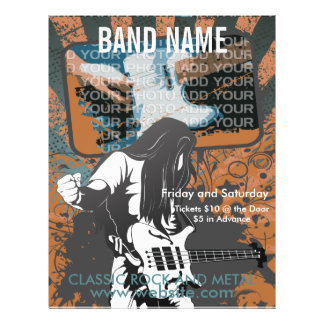 Hetal Metal Band Flyer