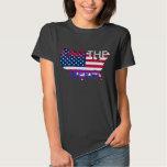 """Hetalia América """"SOY camiseta del HÉROE"""" Camisas"""