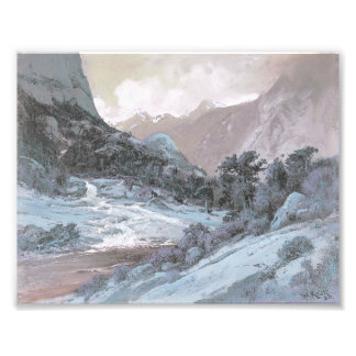 Hetch_Hetchy_Side_Canyon, by William_Keith (mod) Photo Print