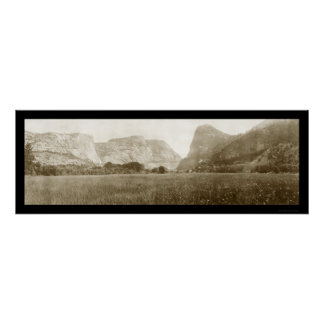 Hetch Hetchy Valley Photo 1911 Poster