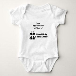 Hetero Affiliates Baby Bodysuit