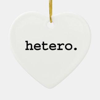hetero. ceramic ornament