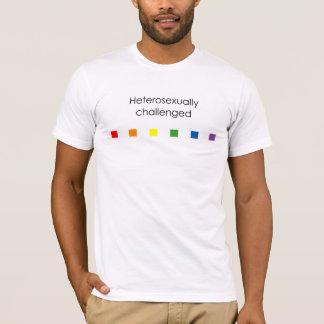 Hetero Challenged Rainbow - Light T-Shirt