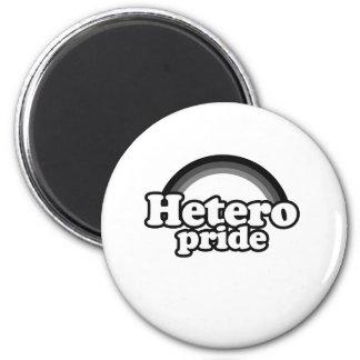 Hetero Pride 2 Inch Round Magnet