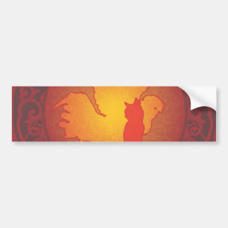 Hetero Pride II Bumper Sticker