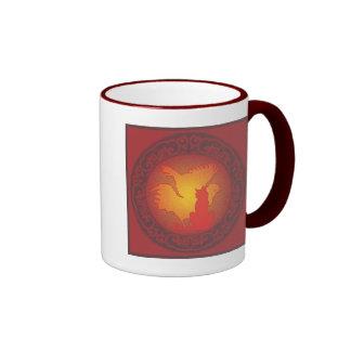 Hetero Pride II Ringer Coffee Mug