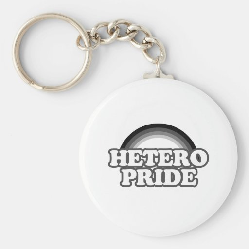 Hetero Pride Keychain