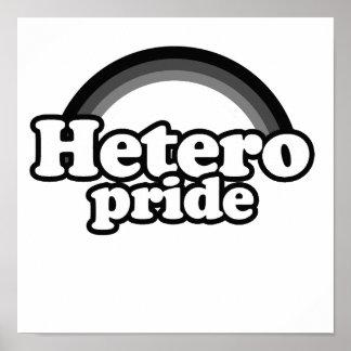 Hetero Pride png Poster