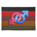 Hetero Pride: Str8 with Love 4 All Place Mats