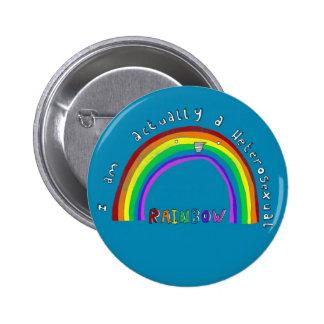 Hetero Rainbow Pin