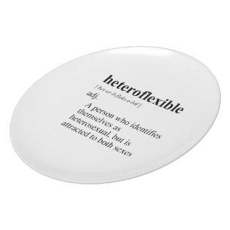HETEROFLEXIBLE DINNER PLATE