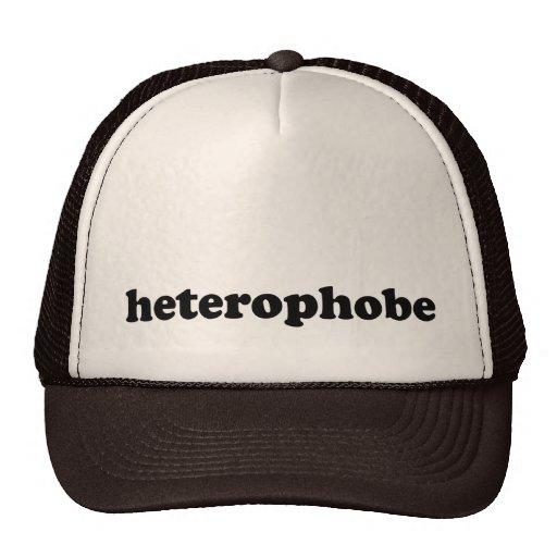 HETEROPHOBE GORRAS