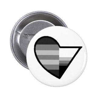 Heteroromantic Demisexual Button
