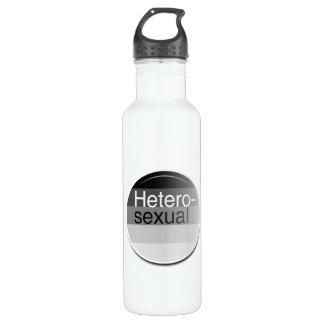 Heterosexual Label 24oz Water Bottle
