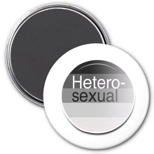 Heterosexual Label Refrigerator Magnets