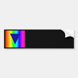 Heterosexual Rainbow Bumper Sticker