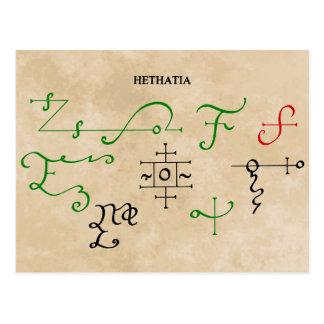 HETHATIA POSTCARDS