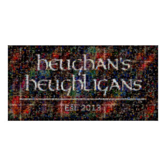 Heughligans Photo Collage - 2013 Posters