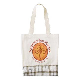 Heughligans Plaid Tote Bag Zazzle HEART Tote Bag