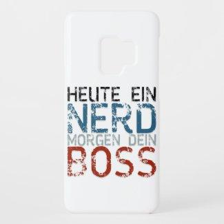 Heute ein Nerd, morgen dein Boss Case-Mate Samsung Galaxy S9 Case