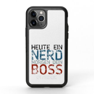 Heute ein Nerd, morgen dein Boss OtterBox Symmetry iPhone 11 Pro Case