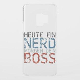 Heute ein Nerd, morgen dein Boss Uncommon Samsung Galaxy S9 Case