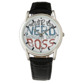 Heute ein Nerd, morgen dein Boss Watch