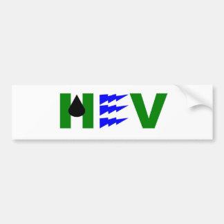 HEV green electric oil Bumper Sticker
