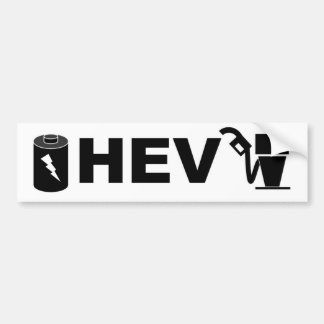 HEV pump and battery Bumper Sticker
