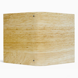 Hevea wood texture 3 ring binder