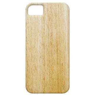 Hevea wood texture iPhone SE/5/5s case