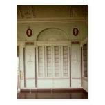 Heveningham Hall, Suffolk: library, 1778-80 Postcard
