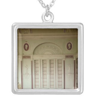 Heveningham Pasillo, Suffolk: biblioteca, 1778-80 Collar Plateado