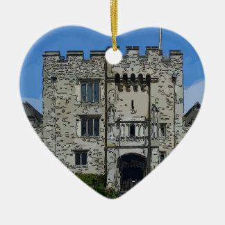 Hever Castle Ceramic Ornament