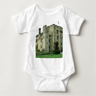 Hever Castle Design 2 Baby Bodysuit