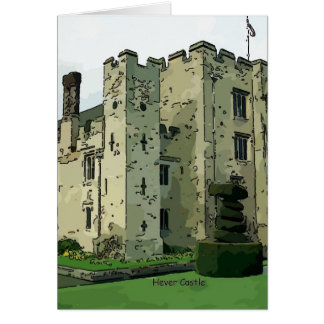 Hever Castle Design 2 Card