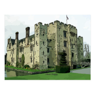 Hever Castle Design 2 Postcard