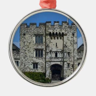 Hever Castle Metal Ornament