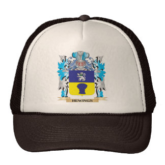 Hewings Coat of Arms - Family Crest Trucker Hat